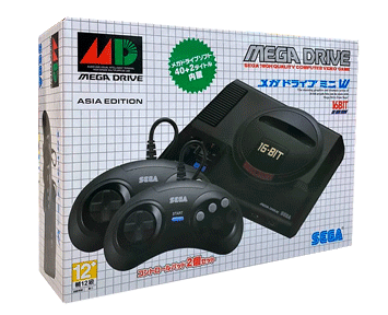 Игровая приставка SEGA Mega Drive Mini ASIA Edition