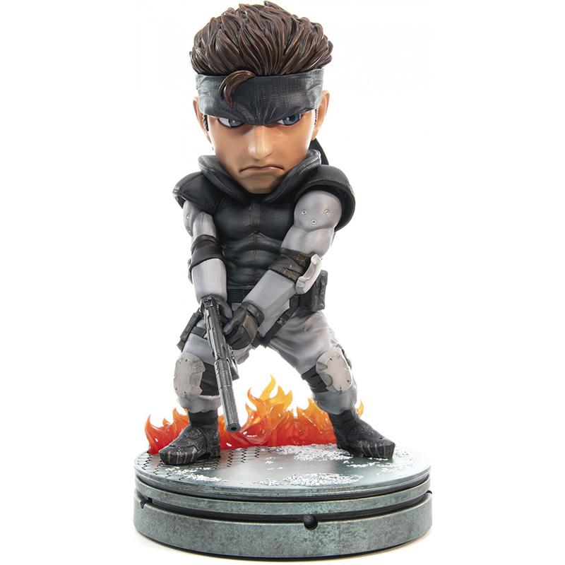 Metal Gear Solid - Solid Snake SD Statue  Standart Edition дополнительное изображение 1