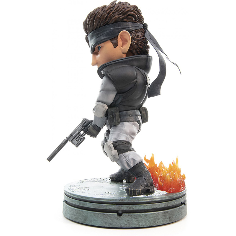 Metal Gear Solid - Solid Snake SD Statue  Standart Edition дополнительное изображение 3