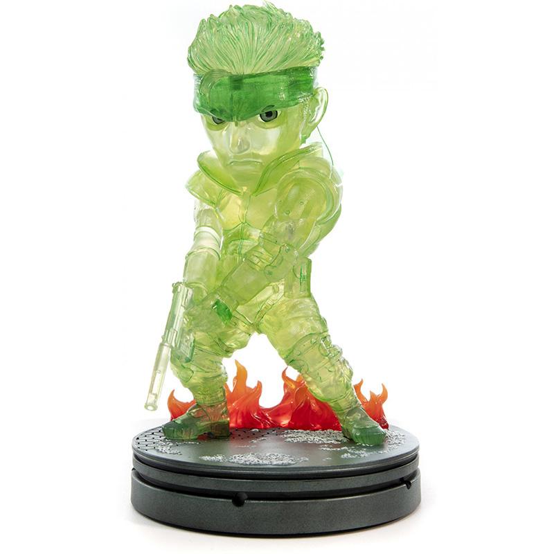 Metal Gear Solid - Solid Snake SD Statue 2  Neon Green Edition дополнительное изображение 2