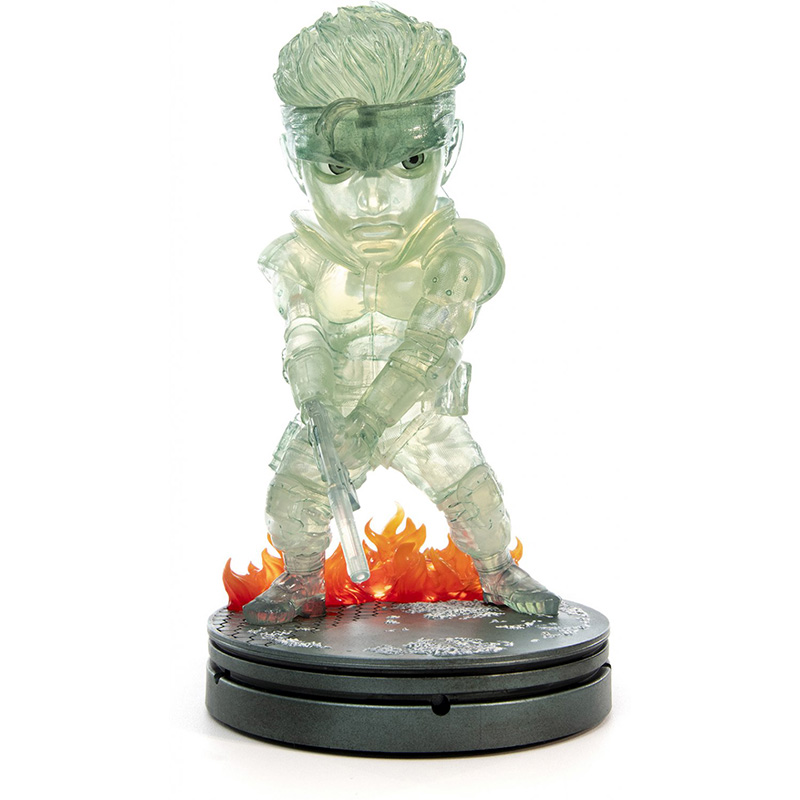 Metal Gear Solid - Solid Snake SD Statue 3  Stealth Camouflage Edition дополнительное изображение 1