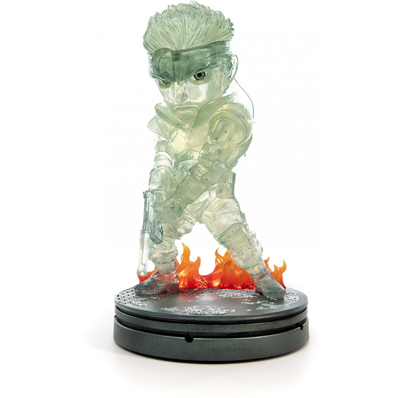 Metal Gear Solid - Solid Snake SD Statue  Stealth Camouflage Edition дополнительное изображение 2