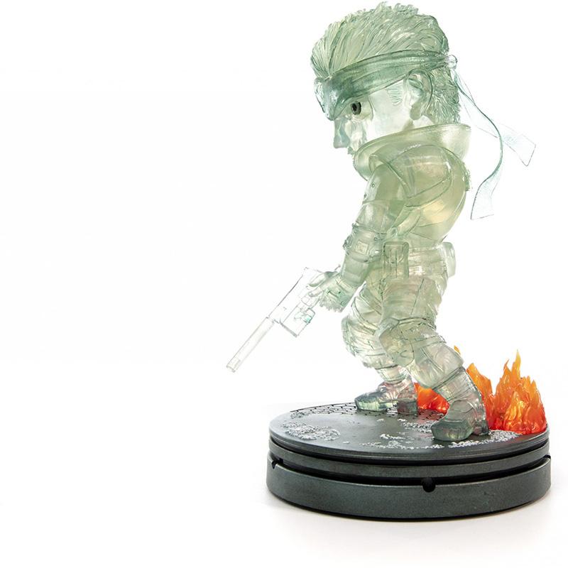Metal Gear Solid - Solid Snake SD Statue 3  Stealth Camouflage Edition дополнительное изображение 3