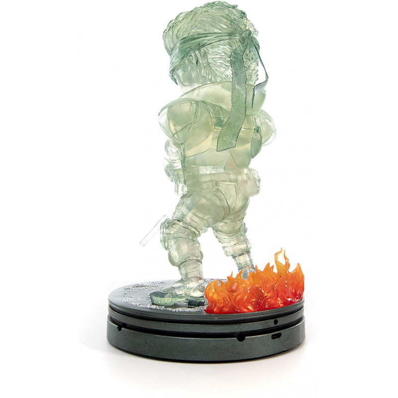 Metal Gear Solid - Solid Snake SD Statue 3  Stealth Camouflage Edition дополнительное изображение 4