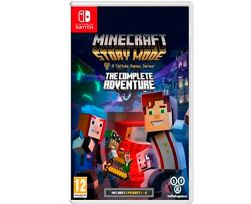 Minecraft Story Mode: The Complete Adventure (Русская версия) (Nintendo Switch)
