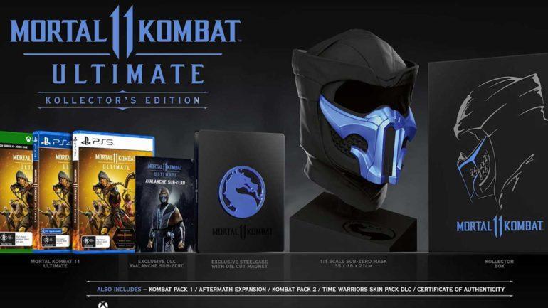 Mortal Kombat 11  XI Ultimate Kollector Edition  PS5 дополнительное изображение 1