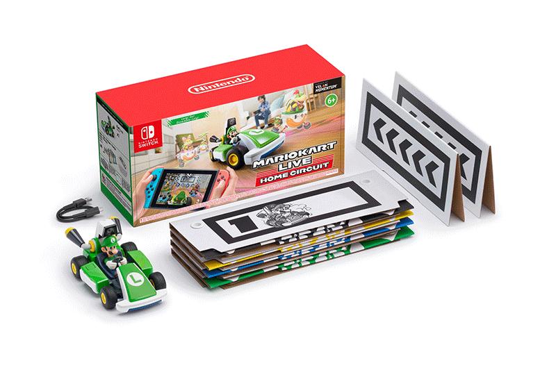 Mario Kart Live Home Circuit набор Luigi  Nintendo Switch дополнительное изображение 1