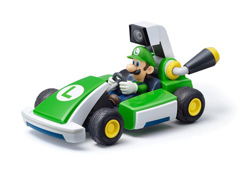 Mario Kart Live Home Circuit набор Luigi  Nintendo Switch дополнительное изображение 2