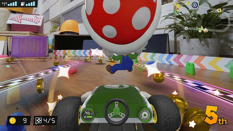 Mario Kart Live Home Circuit набор Luigi  Nintendo Switch  дополнительное изображение 3