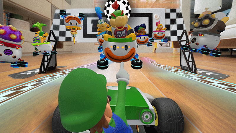 Mario Kart Live Home Circuit набор Luigi  Nintendo Switch дополнительное изображение 4