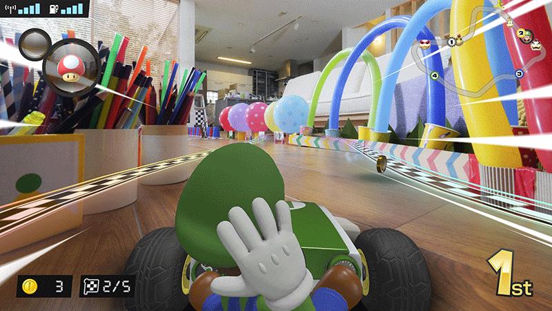 Mario Kart Live Home Circuit набор Luigi  Nintendo Switch дополнительное изображение 5