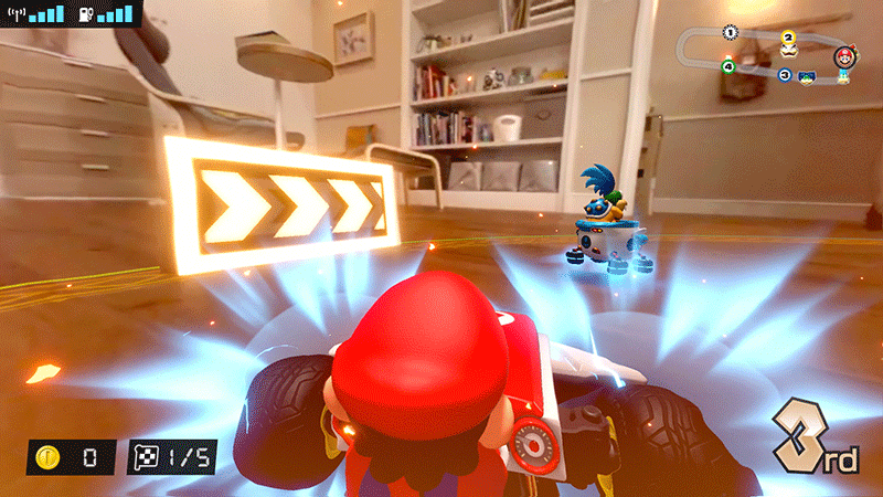 Mario Kart Live Home Circuit набор Mario  Nintendo Switch  дополнительное изображение 3