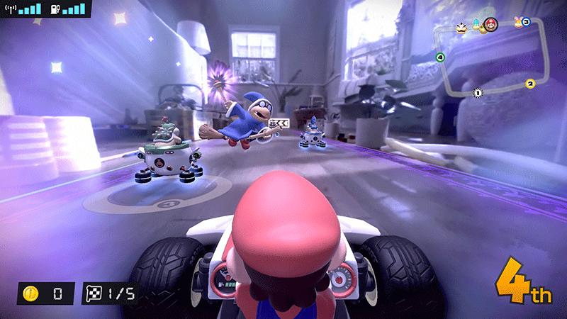 Mario Kart Live Home Circuit набор Mario  Nintendo Switch  дополнительное изображение 4