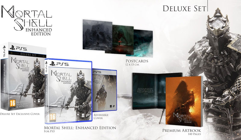 Mortal Shell Enhanced Edition Deluxe Set  PS5 дополнительное изображение 1