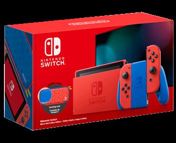 Игровая приставка Nintendo Switch Особое издание Марио [Улучшенная батарея]