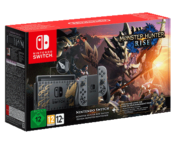 Nintendo Switch Особое издание Monster Hunter Rise