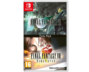 Final Fantasy VII & Final Fantasy VIII Remastered (Nintendo Switch) ПРЕДЗАКАЗ!