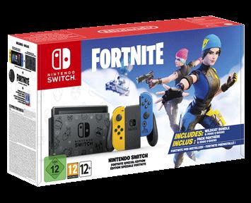 Игровая приставка Nintendo Switch Особое издание Fortnite