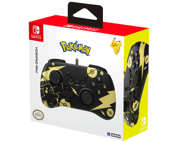 Геймпад HORIPAD Mini Pikachu Black & Gold (Nintendo Switch)