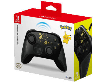 Геймпад Hori Wireless Horipad Pikachu Black & Gold (Nintendo Switch)