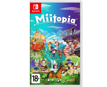 Miitopia (Nintendo Switch) ПРЕДЗАКАЗ!
