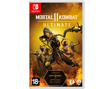 Mortal Kombat 11 Ultimate (Русская версия)(Nintendo Switch) ПРЕДЗАКАЗ!