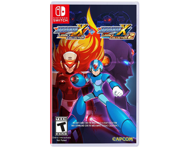 Mega Man X Legacy Collection 1 And 2 (Nintendo Switch)