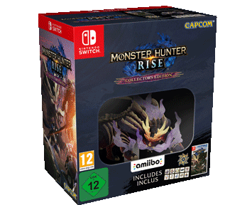 Monster Hunter Rise Collectors edition (Русская версия)(Nintendo Switch) ПРЕДЗАКАЗ!