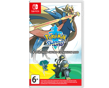 Pokemon Sword + Expansion Pass (Nintendo Switch) ПРЕДЗАКАЗ!