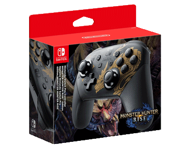Pro Controller в стиле Monster Hunter Rise ПРЕДЗАКАЗ!