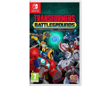 Transformers: Battlegrounds (Русская версия)(Nintendo Switch) ПРЕДЗАКАЗ!