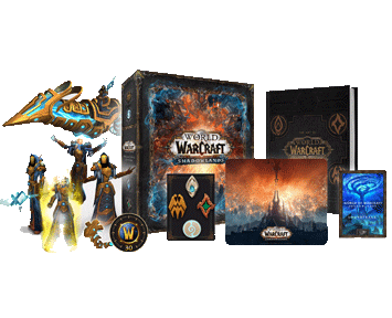 World of Warcraft Shadowlands Collectors Edition [код загрузки](русская версия)(PC)