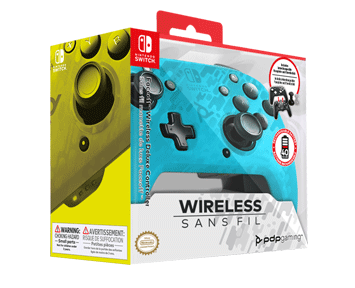 Беспроводной контроллер Faceoff Blue Camo (Nintendo Switch) ПРЕДЗАКАЗ!