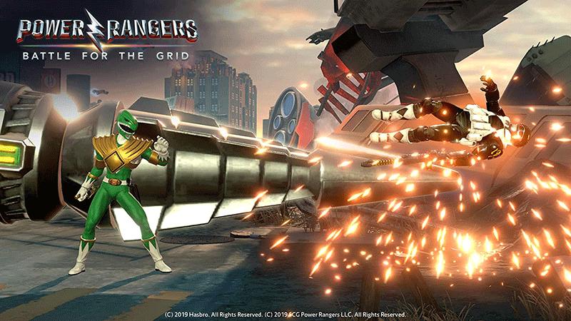 Power Rangers Battle for the Grid Collector Edition US PS4 дополнительное изображение 2