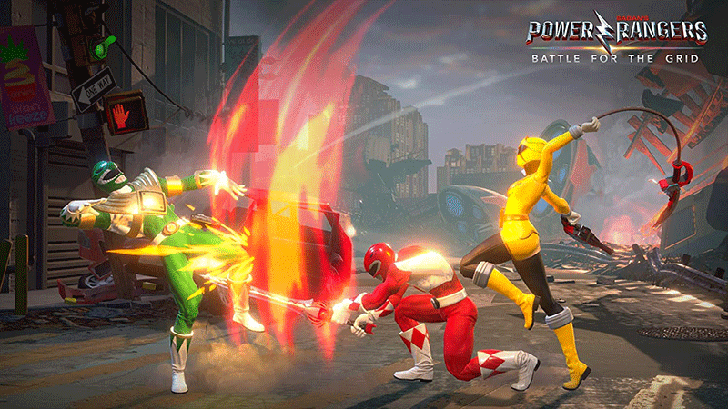 Power Rangers Battle for the Grid Collector Edition US PS4 дополнительное изображение 3