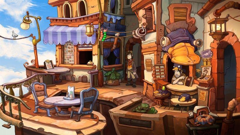 Chaos on Deponia  PS4 дополнительное изображение 2