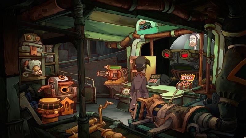 Chaos on Deponia  PS4 дополнительное изображение 3