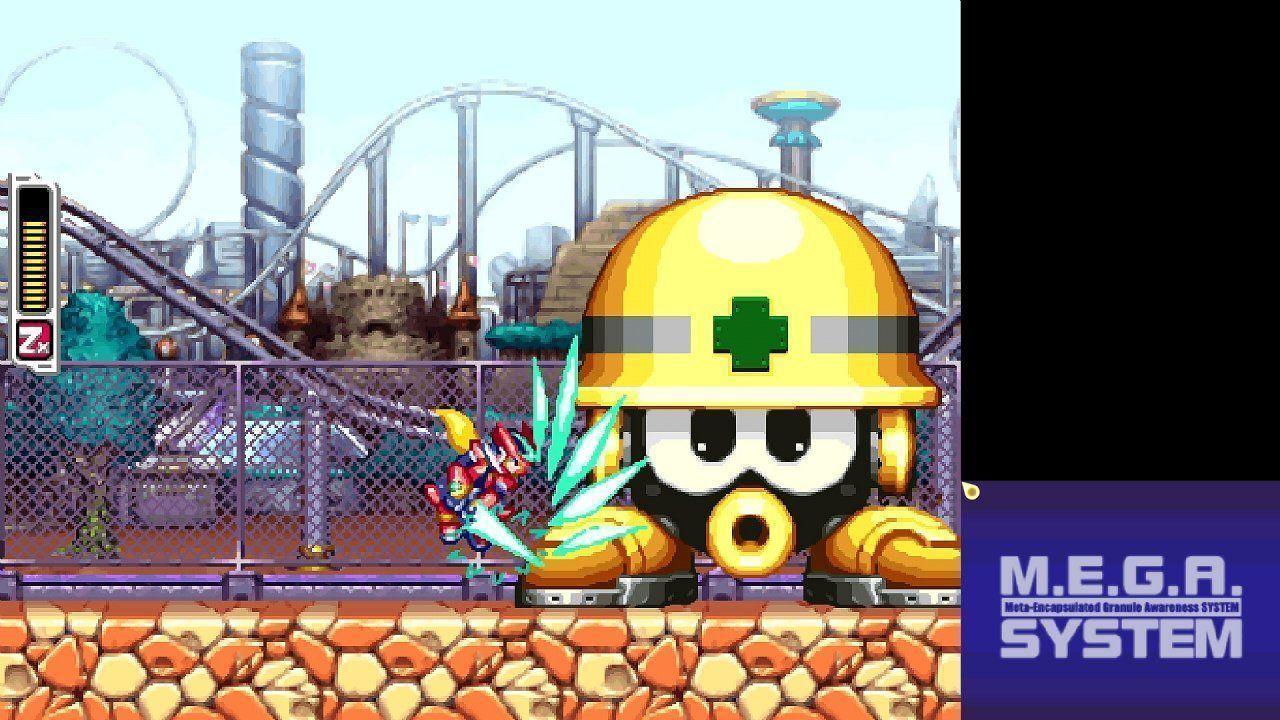 Mega Man Zero/Zx Legacy Collection US PS4 дополнительное изображение 1