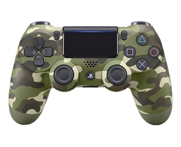 Геймпад Sony DualShock 4 V2 Camouflage Green (CUH-ZCT2E)(PS4)