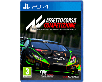 Assetto Corsa Competizione (Русская версия)(PS4)(USED)(Б/У)
