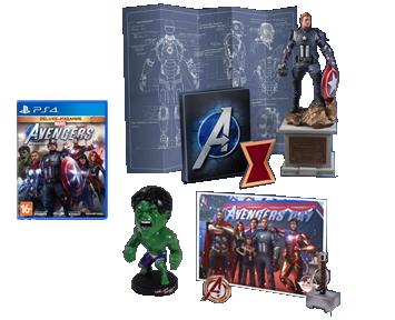 Marvel's Мстители Earths Mightiest Edition (Русская версия)(PS4) ПРЕДЗАКАЗ!