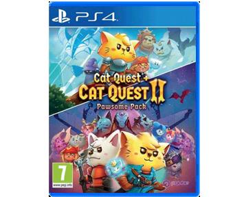 Cat Quest & Cat Quest 2 Pawsome Pack (Русская версия)(PS4)