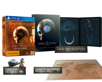 Dark Pictures Anthology Vol 1 Steelbook Edition Bundle (Русская версия)(PS4) ПРЕДЗАКАЗ!