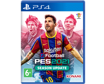 eFootball PES 2021 Season Update (Русская версия)(PS4) ПРЕДЗАКАЗ!