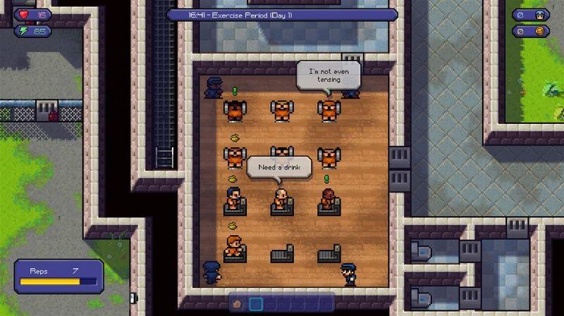 Escapists  PS4 дополнительное изображение 5