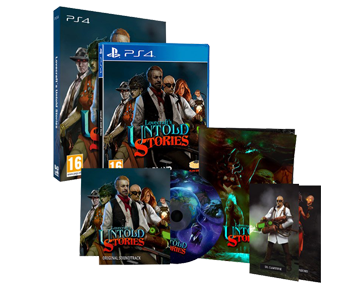 Lovecraft's Untold Stories Collector's Edition (Русская версия)(PS4)