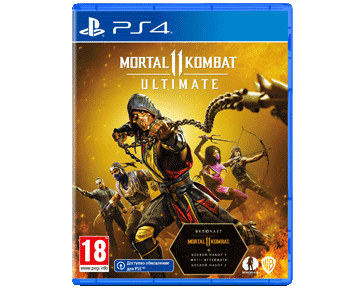 Mortal Kombat 11 Ultimate (Русская версия)(PS4)