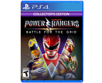 Power Rangers: Battle for the Grid Collector's Edition [US](PS4)