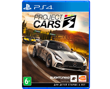Project Cars 3 (Русская версия)(PS4)