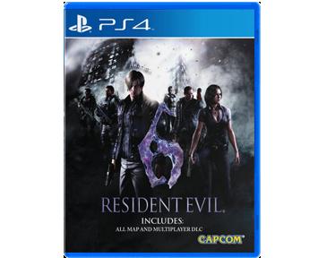 Resident Evil 6 [Русская/Engl.vers.](PS4)(USED)(Б/У)